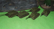 Well Painted 15mm Flames of War Soviet SU100 Tank Killers x 5 (Resin)