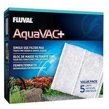 Fluval aquavac + filtre de remplacement coussinets gravier eau aquarium fish tank cleaner