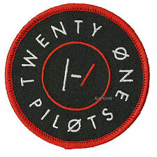 21 Twenty One Pilots Embroidered IRON ON Patch Badge for jean jacket or backpack