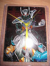 SHADOW HAWKS PROMO CARD 1992 COMIC IMAGES JIM VALENTINO'S MYSTERIOUS VIGILANTE