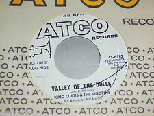 """7"""" - King Curtis & the Kingpins / 8th Wonder & Valley of the Dolls - US PROMO"""