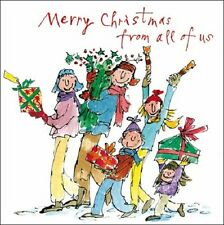 Pack of 5 Quentin Blake Marie Curie Cancer Care Charity Christmas Cards Xmas Pac