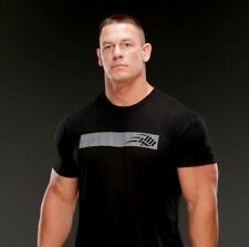 New JOHN CENA Training Cenafit Graphic Grey Black Logo Shirt Mens Small WWE S T