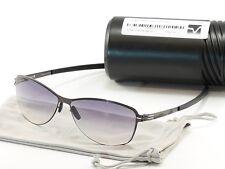IC! Berlin Sunglasses Lore Gunmetal Stainless Steel Germany Made 60-13-135, 42