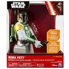 Star Wars Boba Fett Interactive Room Guard Ages 4+ New Toy Gun Blaster Boys Gift