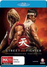Street Fighter Assassin's Fist Movie Edition NEW B Region Blu Ray