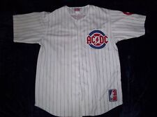 AC/DC Jersey Chicago Cubs Wrigley Field Large L Rare 2015 Angus Young Used