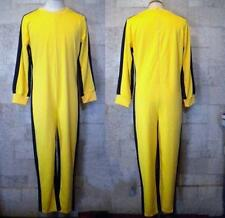 Bruce Lee Game Of Death Costume Kung Fu Yellow Jumpsuit Uniform all size ##