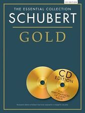 Essential Collection Schubert Gold Edition Play Classical Piano Music Book & CD