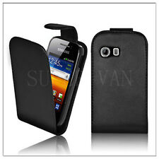 NEW FLIP LEATHER CASE FOR SAMSUNG GALAXY Y S5360 GT-S5360