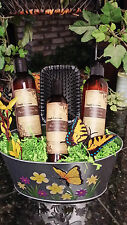 HAIR CARE GIFT SET: ORGANIC HERBAL SHAMPOO, CONDITIONER & ARGAN OIL SHINE SERUM