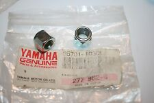 2 NOS YAMAHA SNOWMOBILE STEERING NUTS ET250 ET340 SS440 EC540 95701-10300