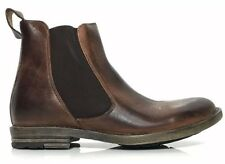 New! BED STU TRIBUTE Teak Rustic Leather Mens COMFORT Ankle BOOTS SZ 10.5 Brown