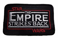 "Star Wars The Empire Strikes Back Movie Logo 4 1/4"" Wide Embroidered PATCH"