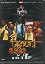 DVD ZONE 2--CONCERT--KOOL & THE GANG--LIVE FROM HOUSE OF BLUES 2001--NEUF