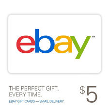 $5 eBay Gift Card - Email delivery