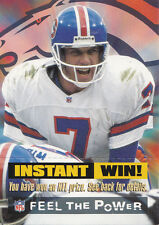 (1200) John Elway Denver Broncos Instant Win Game Cards
