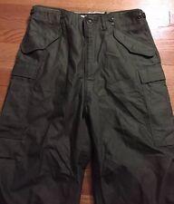 Vintage 50s KOREA War US Army M-1951 Sateen Combat Trousers Uniform Pants. 31-35
