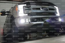 Xenon HID Headlights Fog Lights DELUXE LED Package For 2017 Ford F250 XL