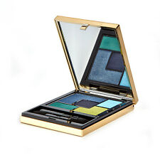 YSL COUTURE 5 COLOR YELLOW GREEN BLUE EYESHADOW PALETTE - LUMIERES MAJORELLE