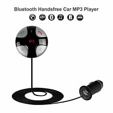 Wireless Hands-free Bluetooth FM Transmitter Modulator Car Kit MP3 Player SD USB