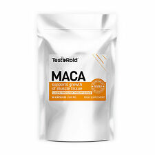 TESTOROID MACA NATURAL TESTOSTERONE & LIBIDO BOOSTER TOP QUALITY 1 MONTH SUPPLY