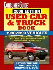 Used Car and Truck 2000 (Consumer Guide Used Car & Truck Book)-ExLibrary