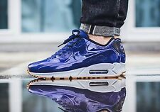 Nike Air Max 90 VT QS SHINY ROYAL BLUE HITS Shoe Mens Sz 7.5 831114-400