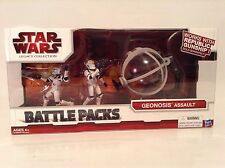 Star Wars Geonosis Assault Figure Battle Pack Legacy Collection Republic Gunship