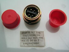 Plessey Connector 508/1/40266/521 4 Pin Plug Mil spec style OM488