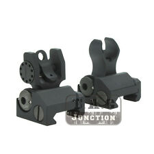 Tactical Rapid Transition Folding Micro Set HK Front and Rear Back Up Iron Sight