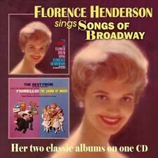 Songs of Broadway New CD