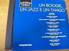 UN BOOGIE UN JAZZ UN TANGO CD EMOZIONI IN MUSICA PAOLO CONTE DALLA CONCATO