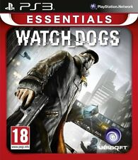 WATCH DOGS WATCHDOGS PS3 Game (BRAND NEW SEALED)