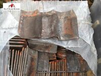 Reclaimed / Second-hand Clay Norfolk Pantile Roofing Tiles