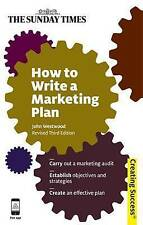 [ HOW TO WRITE A MARKETING PLAN BY WESTWOOD, JOHN](AUTHOR)PAPERBACK, Westwood, J