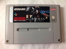 BATMAN RETURNS SNES SUPER NINTENDO PAL S06