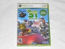 NEW Planet 51 The Game XBox 360 Game FACTORY SEALED Sega planet51 area plant