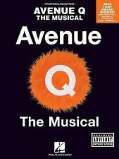 AVENUE Q - THE MUSICAL (explicit lyrics) - PIANO, VOCAL WITH GUITAR CHORDS