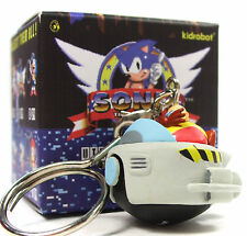 Kidrobot x Sega SONIC THE HEDGEHOG Keychain Series EGGMOBILE Vinyl Figure