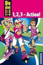 Die drei !!! 1, 2, 3 - Action! (Ausrufezeichen) von Maja Vogel und Henriette...