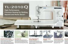 Juki TL-2010Q Top of the line Quilting Sewing Machine  NEW