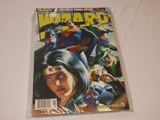 Wizard RARE comic book magazine Wonder Women Flash Superman Batman Wolverine 75
