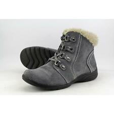 Earth Origins Crowley Women US 8.5 Gray Ankle Boot Pre Owned  1204