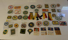 Boy Scout Patches Vintage Lot Weblos Cub Scout Badges 1960's 1970's 1980's