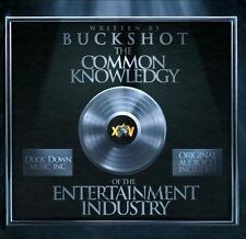 Common Knowledgy of the Entertainment Industry by Buckshot CD/ BOOK 2011,...