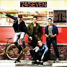 BIG TIME RUSH 24/Seven CD BRAND NEW Deluxe Edition 5 Extra Tracks