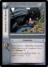 LoTR TCG Ages End Strength In My Blood FOIL 19P15
