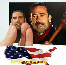 1/6 Negan head The Walking Dead Jeffrey Dean Morgan for hot toys Phicen USA