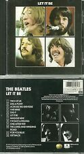 CD - THE BEATLES ( JOHN LENNON ) : LET IT BE ( COMME NEUF - LIKE NEW )